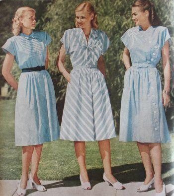 15 Classic Vintage 1940s Dress Styles | 1940s fashion dress