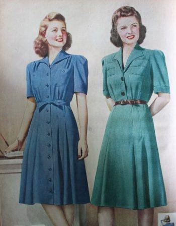 15 Classic Vintage 1940s Dress Styl