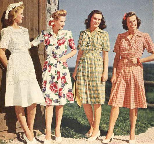 Tutorial: Make vintage-inspired earrings | 1940s fashion, Fashion .