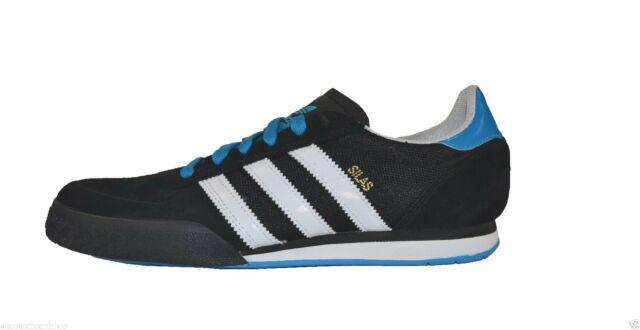 Adidas SILAS SLR Black White Blue Skateboarding D73667 (253) Men's .