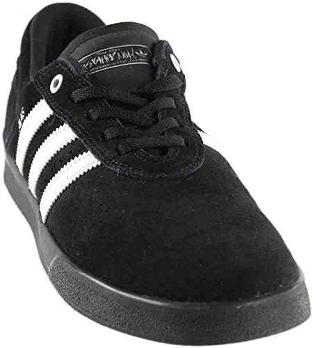 Amazon.com | adidas Mens Silas Vulc Skate Casual Sneakers, Black .