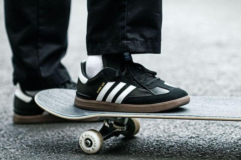 Adidas Skateboarding Samba ADV Skate Shoes   Tacti