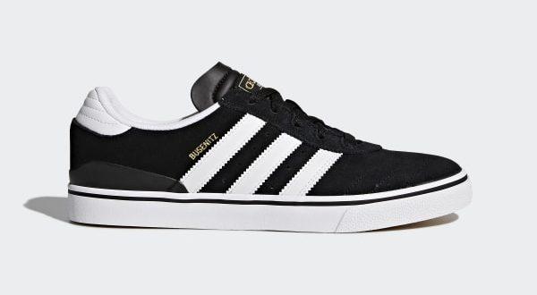 adidas Busenitz Vulc Shoes - Black   adidas