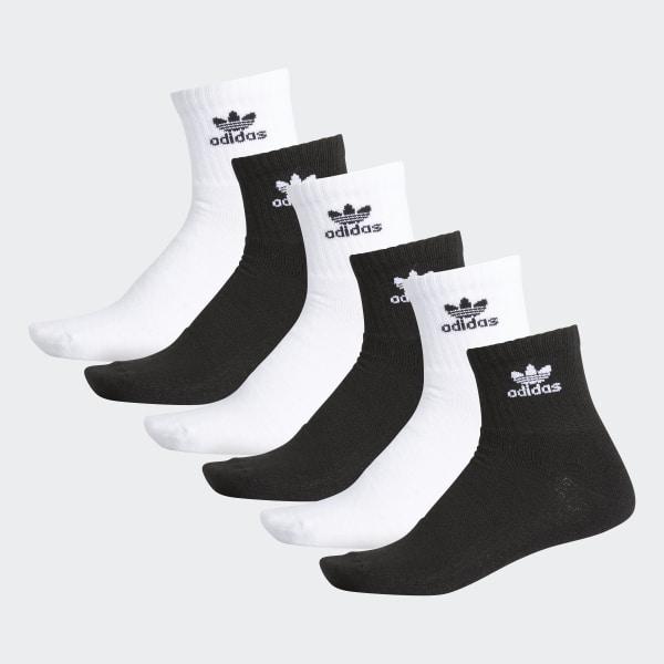 adidas Cushioned Crew Socks 3 Pairs - Black | adidas