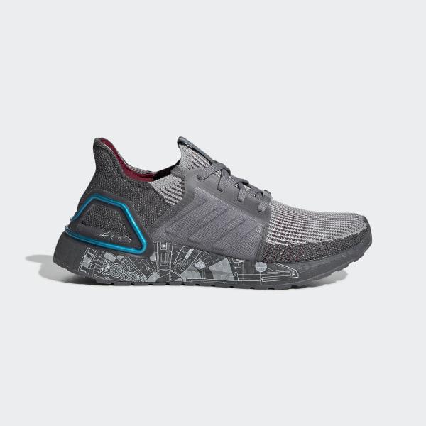 adidas Ultraboost 19 Star Wars Shoes - Grey   adidas