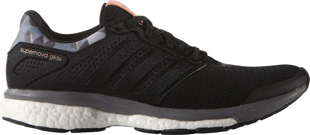adidas Supernova Glide 8 GFX Boost Womens Running Shoes - Black | eB