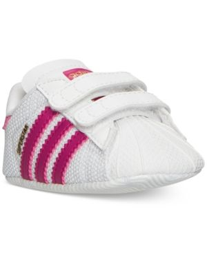 adidas Infant Superstar Crib Casual Sneakers from Finish Line .