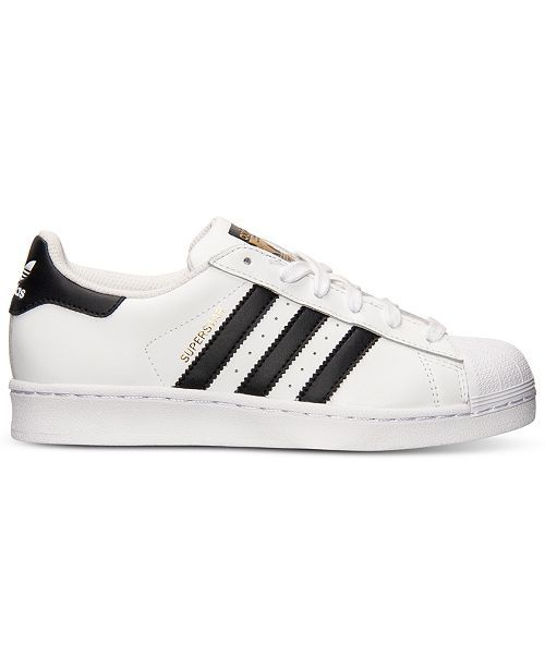 adidas Big Boys' Superstar Casual Sneakers from Finish Line .