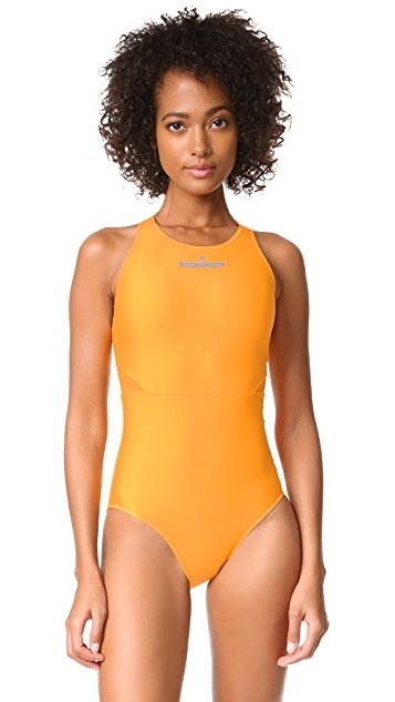 adidas by Stella McCartney Zip Swimsuit | SHOPB
