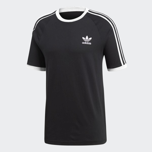 adidas 3-Stripes Tee - Black | adidas