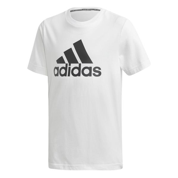 adidas T-Shirt Must Haves - White/Black Kids | www.unisportstore.c