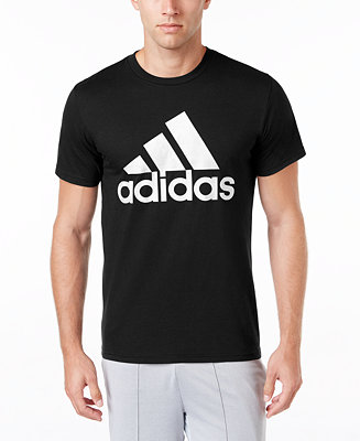 adidas Men's Badge of Sport Classic Logo T-Shirt & Reviews - T .