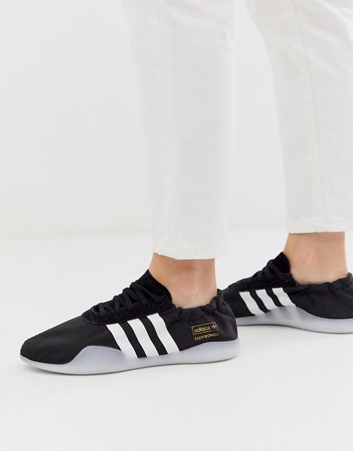 adidas Originals Taekwondo Team sneakers in black   AS