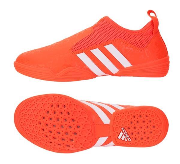 Adidas Men Taekwondo Shoes Footwear Orange Martial Arts Indoor .