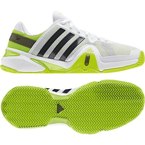 NIB Men's ADIDAS ADIPOWER BARRICADE CLAY Court TENNIS SHOES reg .