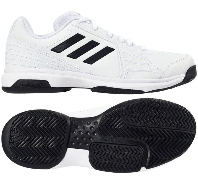 adidas Approach Men Tennis Shoes for All Court White Racket .