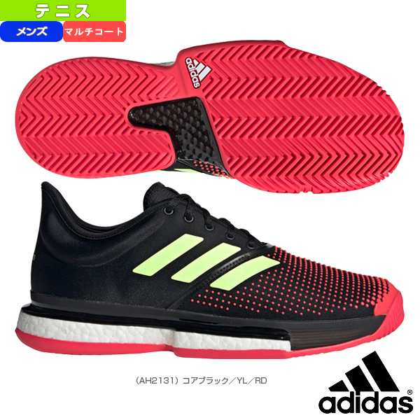 Racketplaza: [Adidas tennis shoes] SoleCourt Boost M MC/ sole coat .