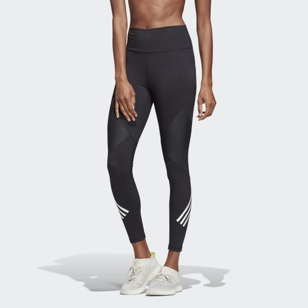 adidas Believe This High-Rise 7/8 Tights - Black | adidas