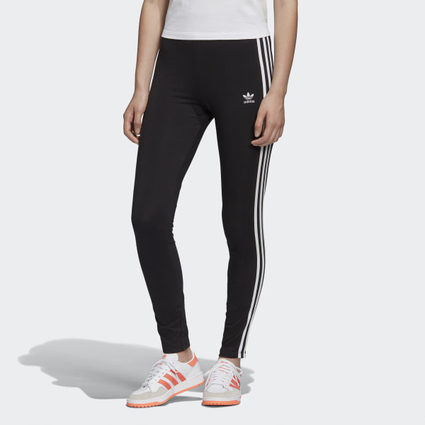 adidas Adicolor 3-Stripes Tights - Black | adidas