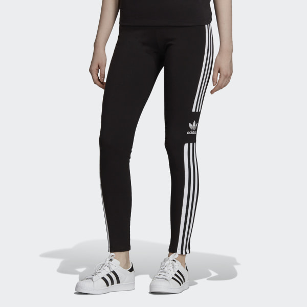 adidas Trefoil Tights - Black | adidas