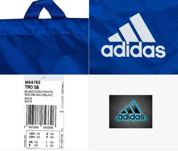 Adidas Tiro GYM Back Shoes Bags Blue Sports Bag Running Soccer .