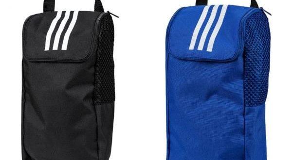 Adidas TIRO GYM Back Shoes Bags Black Blue Bag Running Training .