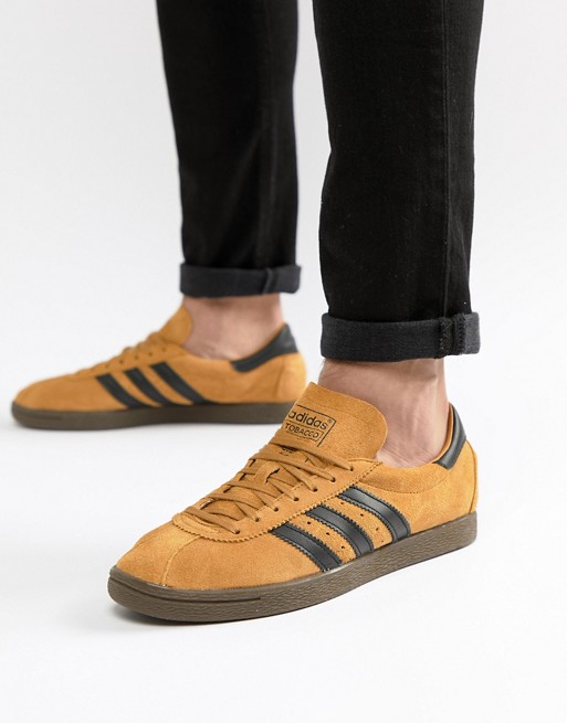 adidas Originals Tobacco Sneakers In Yellow CQ2761 | AS