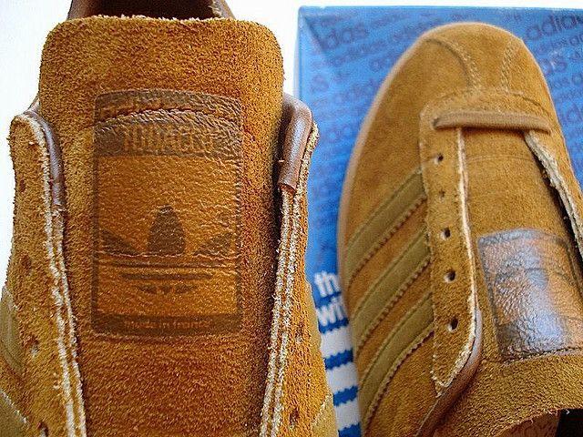 Vintage 1980s adidas Tobacco | Sneakers fashion, Vintage adid