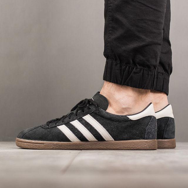Adidas Originals Tobacco Black Suede GUM Clear Brown White BY9530 .