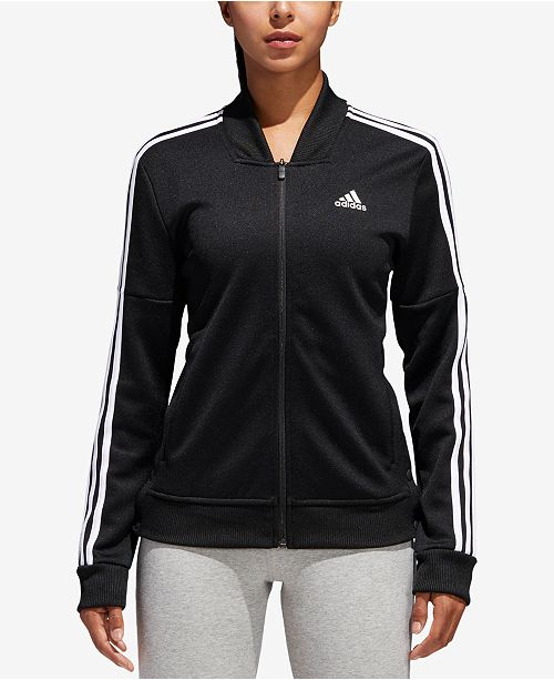 adidas Tricot Snap Track Jacket & Reviews - Jackets & Blazers .