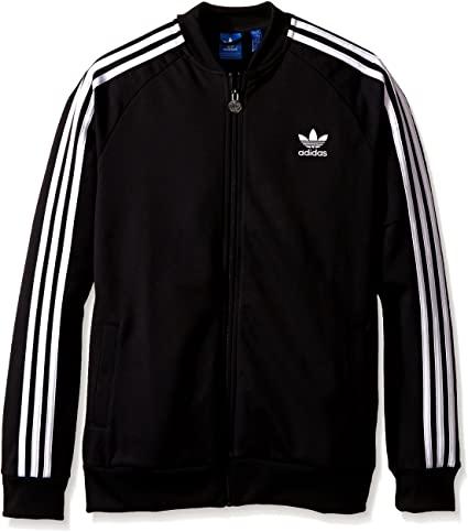 Amazon.com: adidas Originals Boys' Superstar Track Top: Clothi