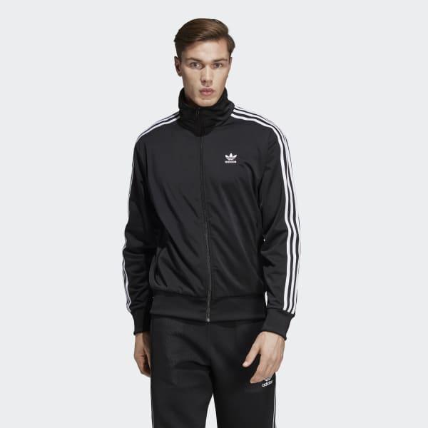 adidas Firebird Track Jacket - Black | adidas