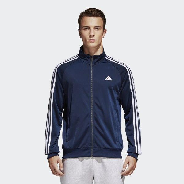 adidas Essentials Track Jacket - Blue | adidas