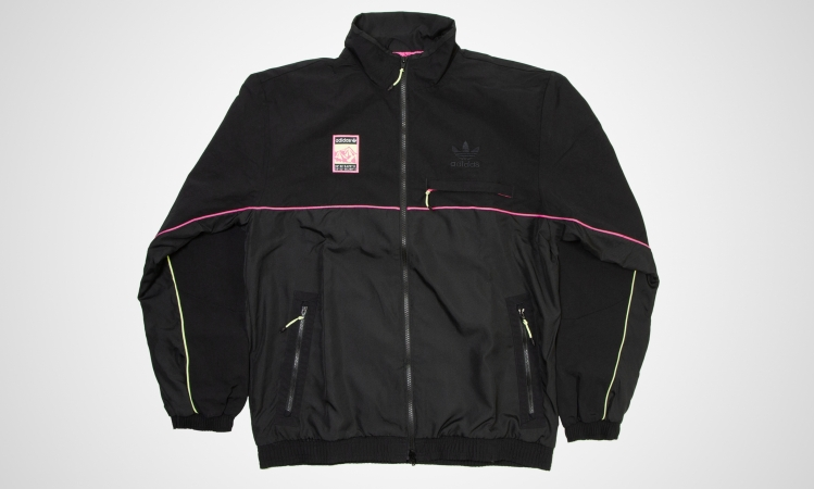 adidas Track Top (black / pink) | 43einhalb Sneaker Sto