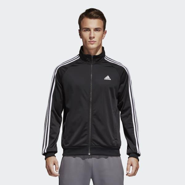 adidas Essentials Track Jacket - Black | adidas