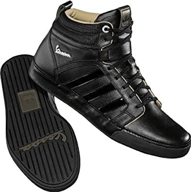 Amazon.com | Adidas - Vespa Px 2 Mid Mens Shoes In Black / Black .