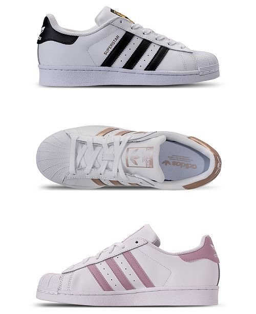 adidas Women's Originals Superstar Sneakers from Finish Line .