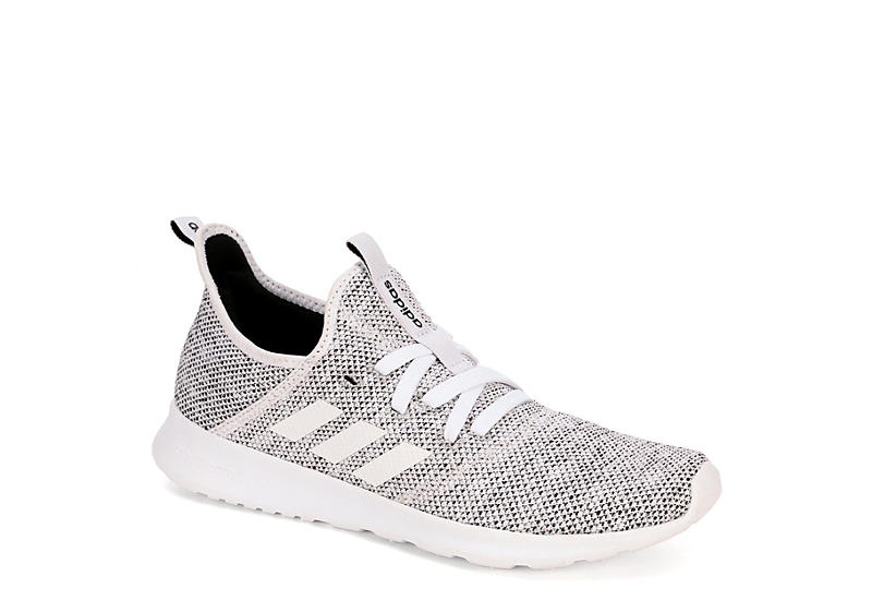 White adidas Cloudfoam Pure Women's Sneakers | Rack Room Sho