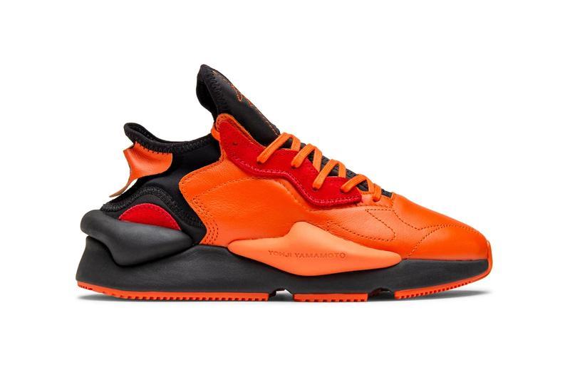 adidas Y-3 Kaiwa Orange & Black EF7523 Release Info   HYPEBEA