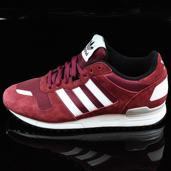 adidas ZX 700 Shoes Burgundy, Whi