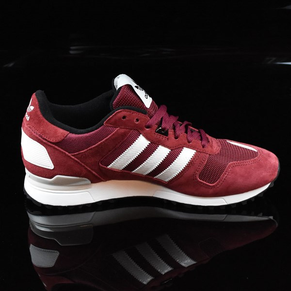ZX 700 Shoes Burgundy, White In Stock at The Boar