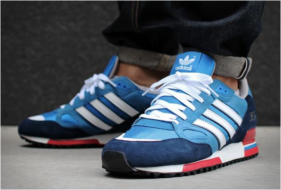 Adidas Zx750 Bluebird Dark Slate   Sneakers fashion, Running shoes .