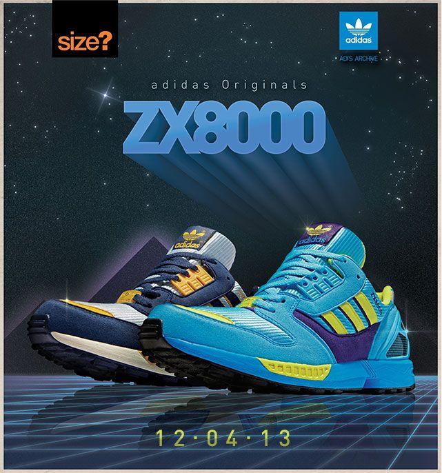 adidas ZX 8000   Vintage adid