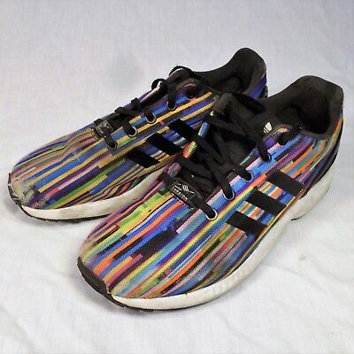 Adidas ZX Flux Torsion Shoes Rainbow Prism 6.5 Sneakers | eB