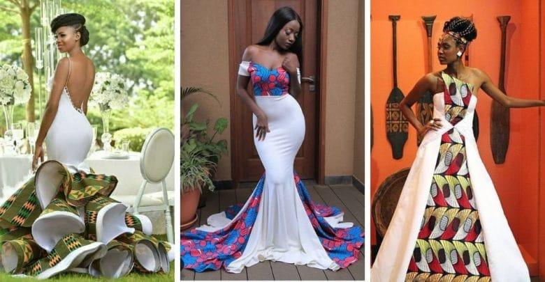 20 Best African Wedding Dresses In 2019 - Bafbo