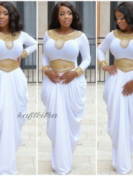Rumah Kaftan Citra | African fashion dresses, African dress .