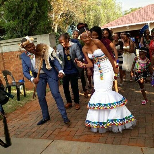 Traditional African Wedding Dress | Pink Book | African wedding .