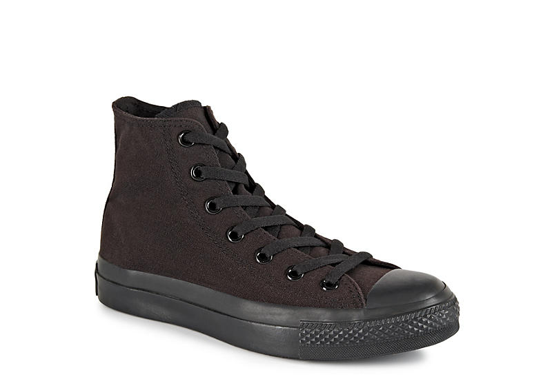 All Black Converse Chuck Taylor Unisex High Tops | Rack Room Sho