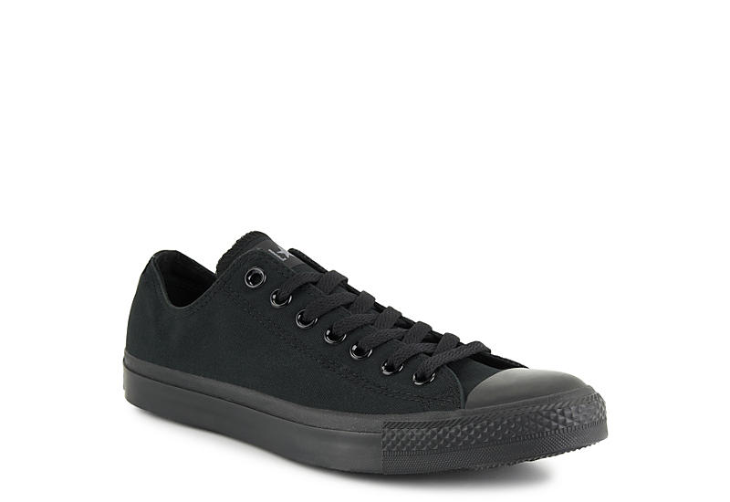 Black Converse Mens Chuck Taylor All Star Lo Sneaker | Athletic .