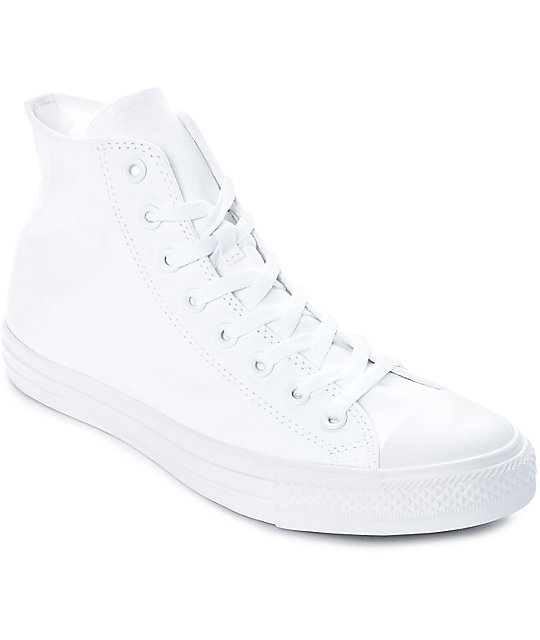 Converse Chuck Taylor All Star All White Shoes | Zumi